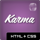 Karma - Responsive Clean Website Template Nulled