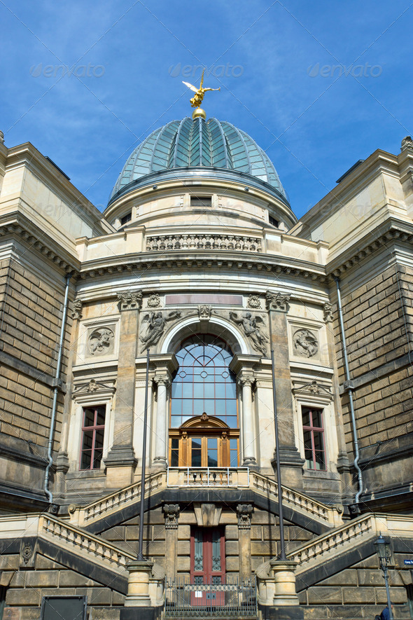 The Academy of Arts in Dresden - Stock Photo - Images