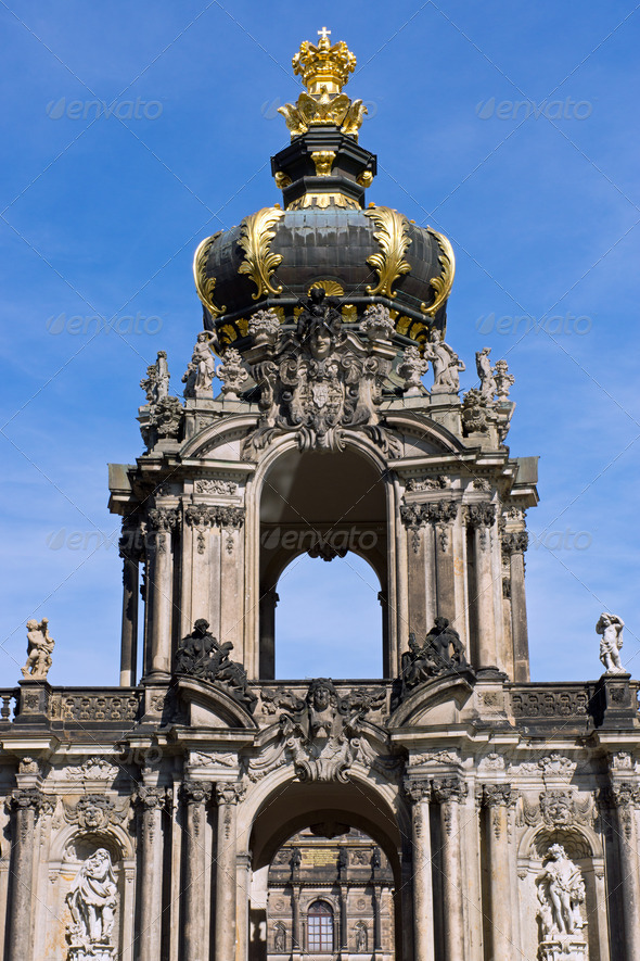 Detail of the Zwinger - Stock Photo - Images