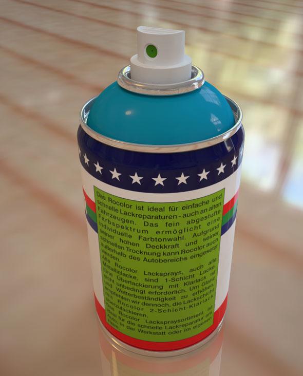 Spray Paint - 3DOcean Item for Sale