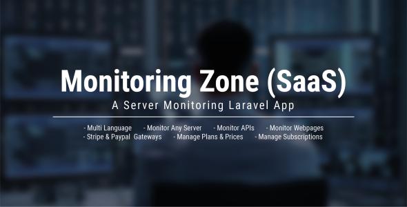 Monitoring Zone (SaaS) - Server Monitoring Laravel App