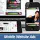 Mobile Website Ads - Banners  - GraphicRiver Item for Sale