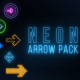 Neon Arrow Pack - VideoHive Item for Sale