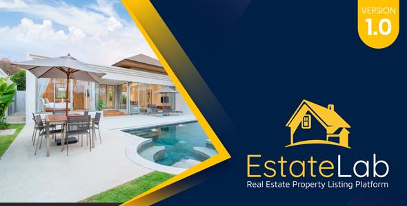 EstateLab - Real Estate Property Listing Platform