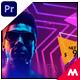 Neon Party Promo - Premiere Pro - VideoHive Item for Sale