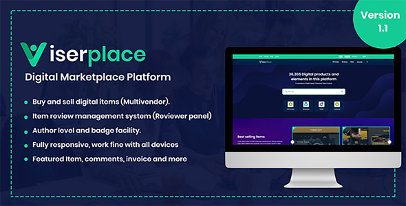 ViserPlace - Digital Marketplace Platform