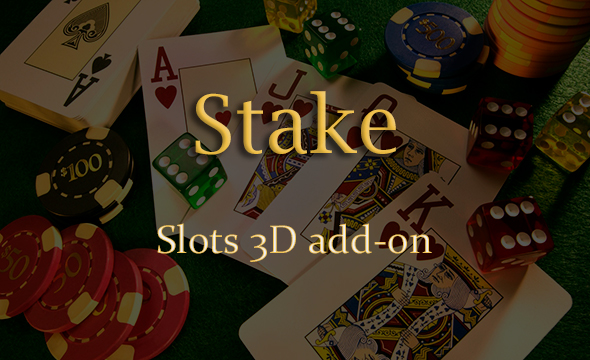 Slots 3D Add-on for Stake Casino Gaming Platform
