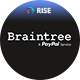 Braintree payment method for RISE CRM