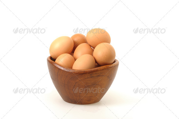 Farm Fresh Eggs - Stock Photo - Images