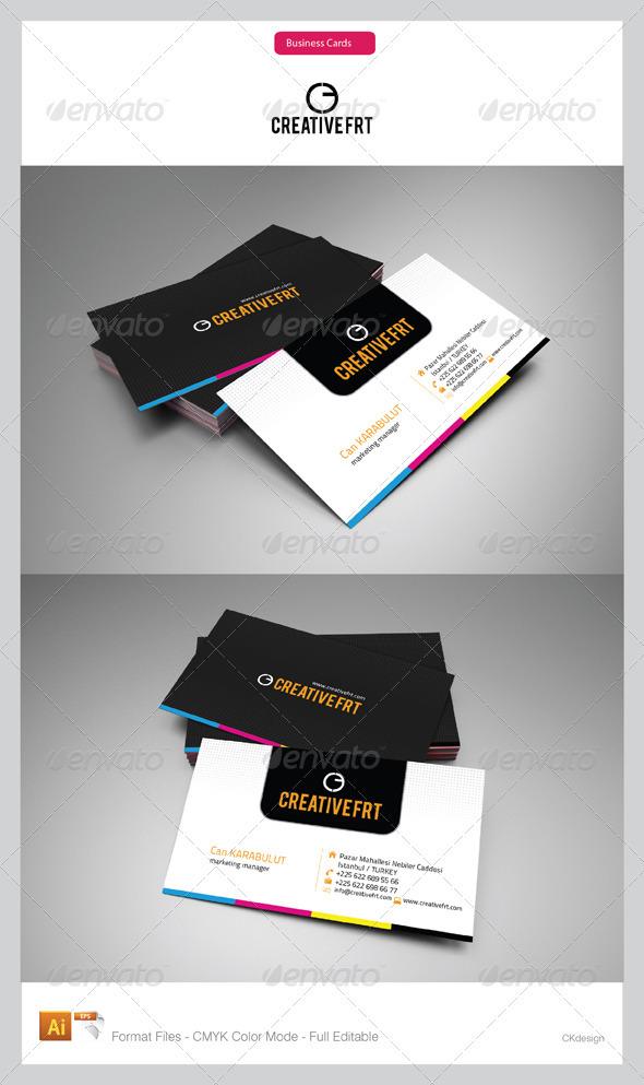 Corporate Business Cards 54 - Corporate Business Cards