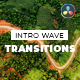 Intro Wave Transitions for Davinci Resolve - VideoHive Item for Sale