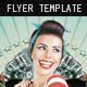 Retro Glam Party Flyer - GraphicRiver Item for Sale