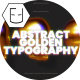 Abstract Golden Typography - VideoHive Item for Sale