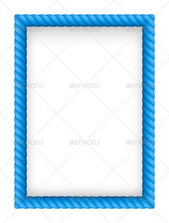 Rope Border - Retro Technology