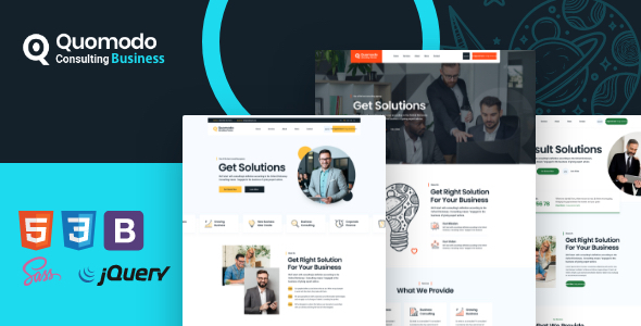Fabulous Quomodo - Consulting Business Template