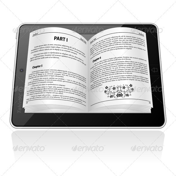 E-book Concept - Media Technology