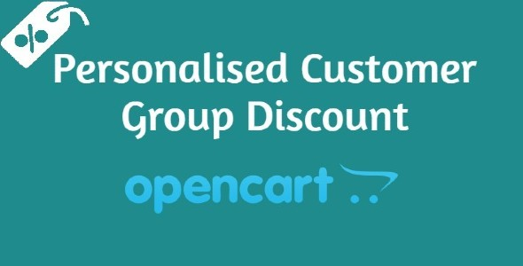 Personalised customer group discount
