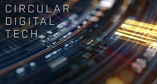 Circular Abstract Digital Theme
