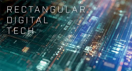 Rectangular Abstract Digital Theme