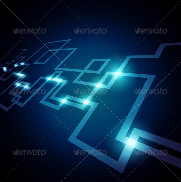 Network Design - Backgrounds Decorative