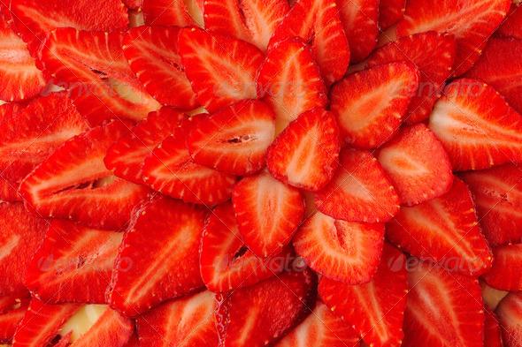 Strawberry tart - Stock Photo - Images