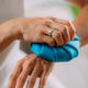Wrist Pain Treatment. Woman Holding Ice Bag Compress on a Painful Wrist. - PhotoDune Item for Sale
