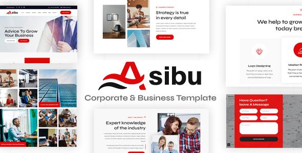 Asibu – Responsive Multipurpose Joomla Template