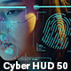 Cyber HUD 50 Elements - VideoHive Item for Sale
