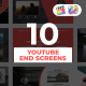 Youtube End Screens for Apple Motion and FCPX - VideoHive Item for Sale