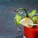 Bloody mary cocktail with celery sticks and lime - PhotoDune Item for Sale