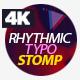Rhythmic Typo Stomp - VideoHive Item for Sale
