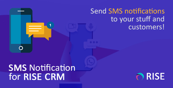 SMS Notification for RISE CRM