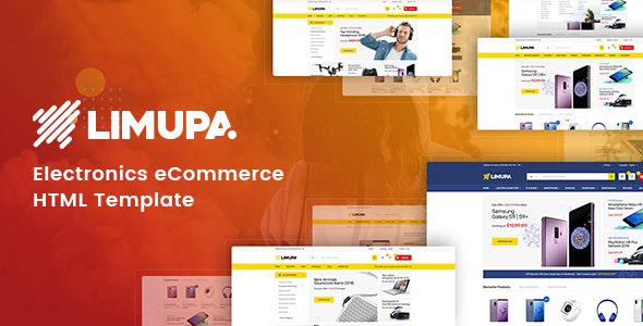 Marvelous Limupa - Electronics eCommerce HTML Template