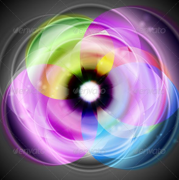 Colourful elegant design. Vector background - Backgrounds Decorative