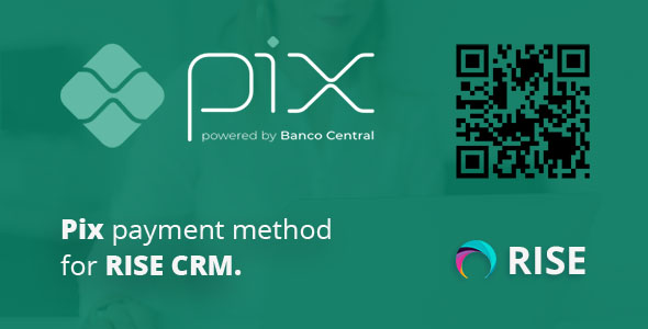 Pix payment method for RISE CRM