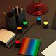 Desk With Random Stuffs - 3DOcean Item for Sale