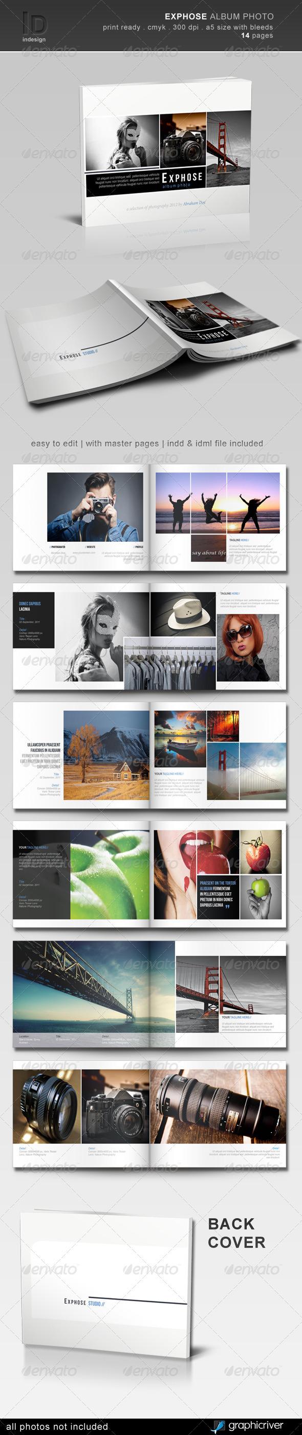 Exphose Album Photo - Photo Albums Print Templates