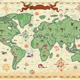 Ancient-style World Map - GraphicRiver Item for Sale