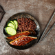 eel with brown rice - PhotoDune Item for Sale