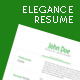 Elegance Resume Set - GraphicRiver Item for Sale