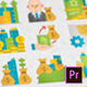 Real Estate Modern Flat Animated Icons - Mogrt - VideoHive Item for Sale
