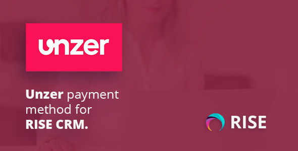 Unzer payment method for RISE CRM