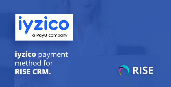 iyzico payment method for RISE CRM