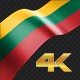 Long Flag Lithuania - VideoHive Item for Sale