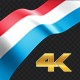 Long Flag Luxembourg - VideoHive Item for Sale