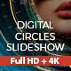 Digital Circles Slideshow - VideoHive Item for Sale