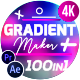 Gradient Maker with 100 Gradients - VideoHive Item for Sale
