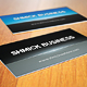 Print ready shmick professional business card - GraphicRiver Item for Sale