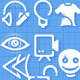 163 Simple Icons - GraphicRiver Item for Sale