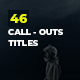 Digital Call-Out Titles - VideoHive Item for Sale